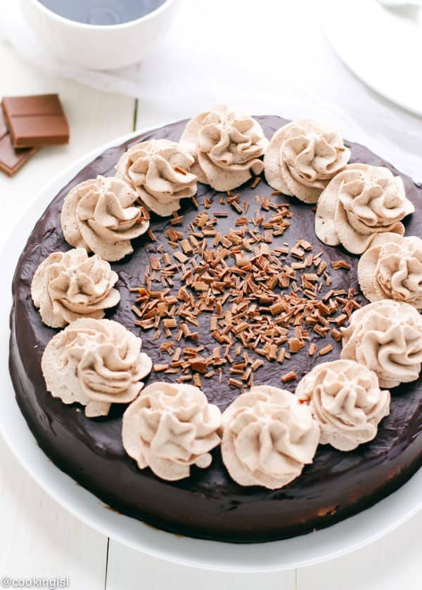 Triple Chocolate Cheesecake Recipe by Cooking LSL