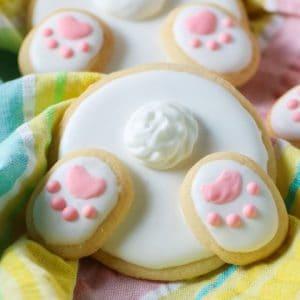 Bunny Bum Cookies