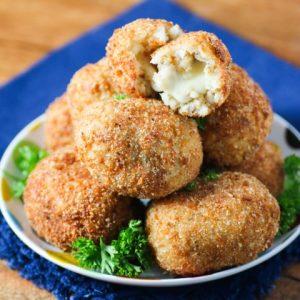 Mozzarella Stuffed Arancini