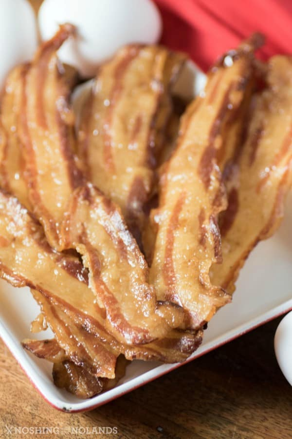 Perfectly Crispy Baked Bacon