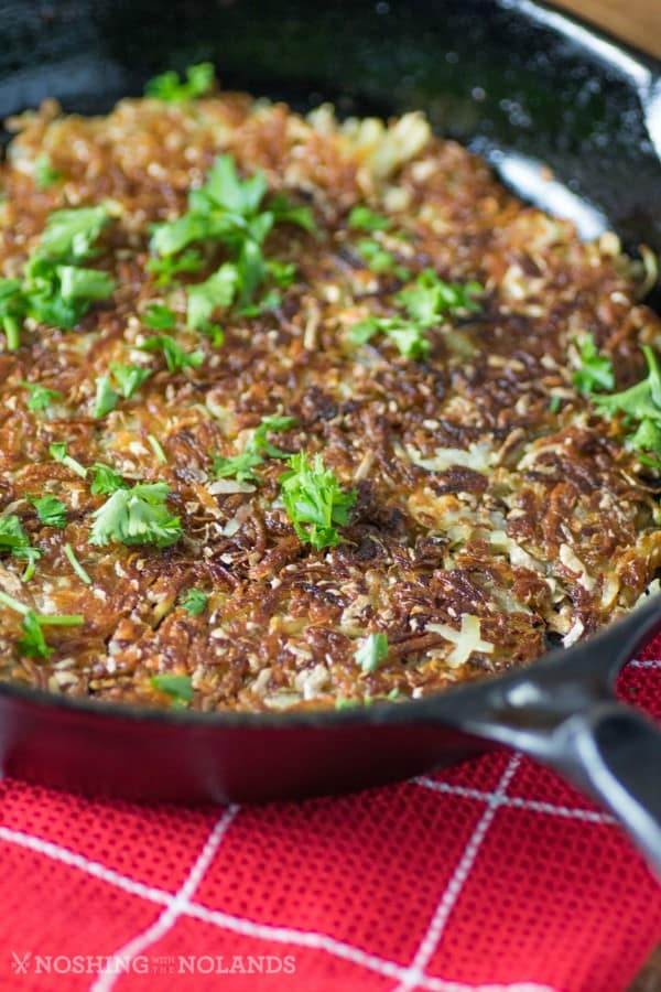 Crispy Rosti Potatoes
