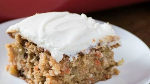 Easy Carrot Snack Cake