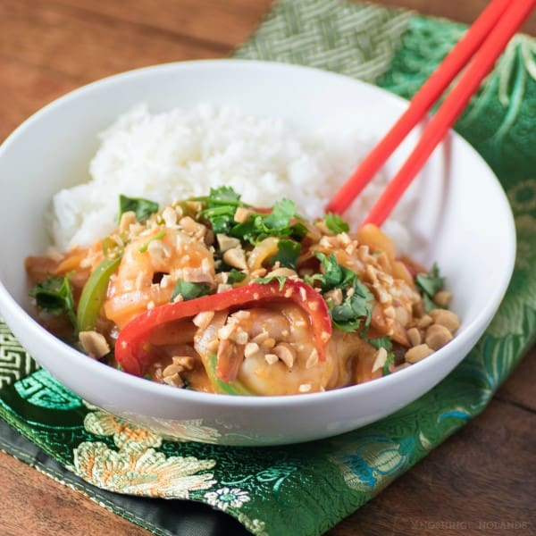 Thai Pepper Shrimp Curry