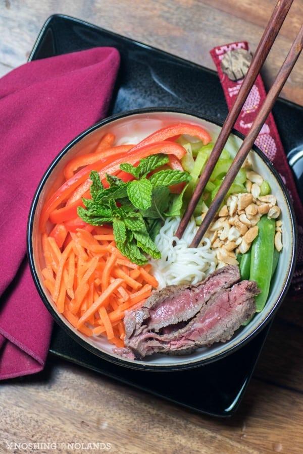 Tofu Shirataki Noodle Buddha Bowl