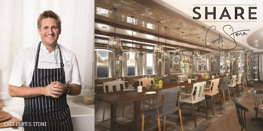 Share by Curtis Stone Aboard Princess Cruises