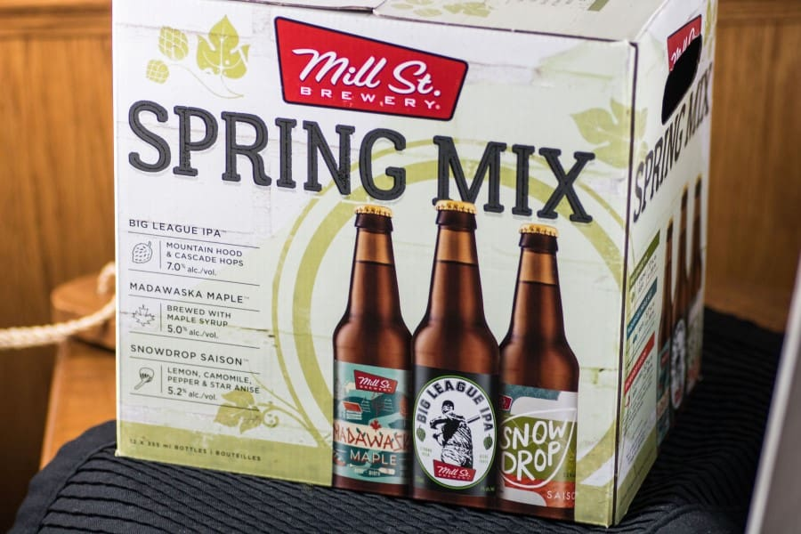 Mill St Brewery Spring Mix case