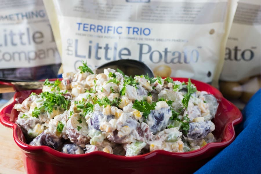 Crab Boil Potato Salad
