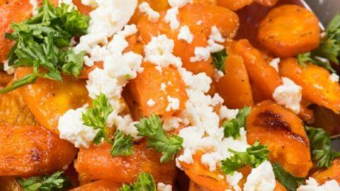 Feta Roasted Carrot Recipe