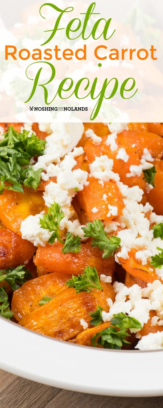 Feta Roasted Carrot Recipe