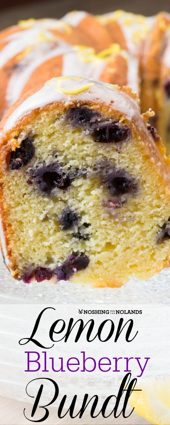 Lemon Blueberry Bundt