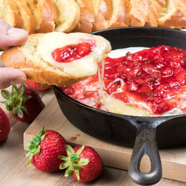Strawberry Jalapeno Brie