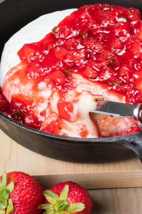 Strawberry Jalapeno Brie