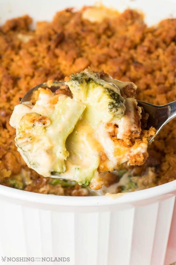 Traditional Cheesy Broccoli Casserole