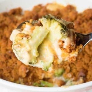 Traditional Cheesy Broccoli Casserole