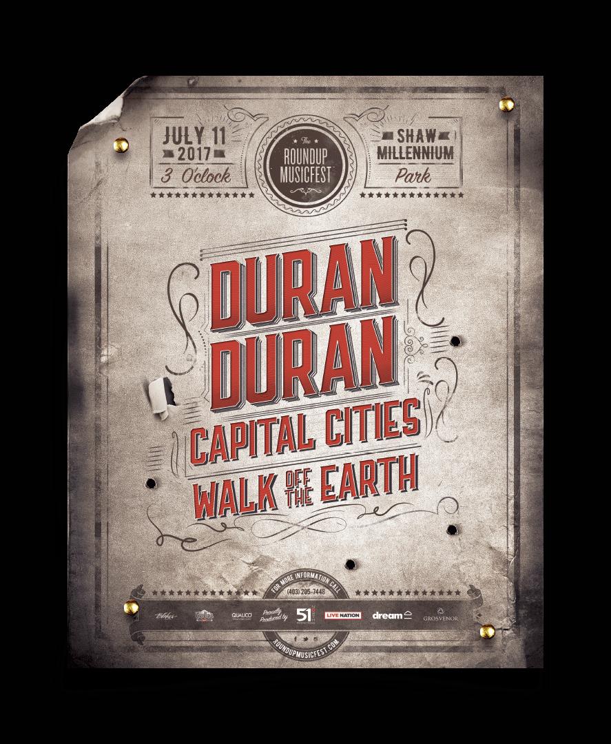 Roundup MusicFest - Duran Duran