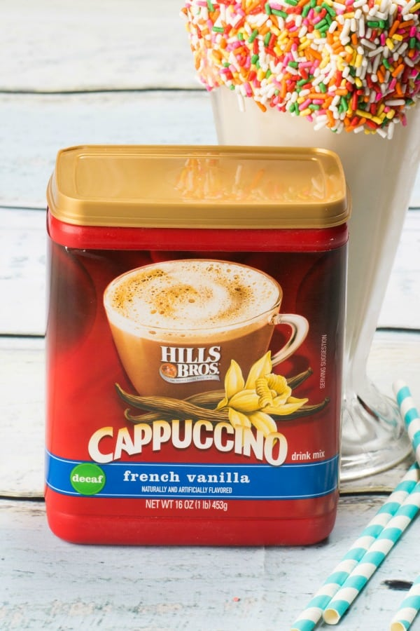 French Vanilla Cappuccino Milkshake