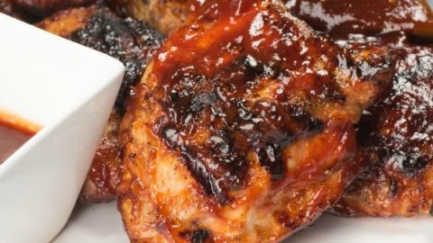 Grilled Chicken with Homemade BBQ Sauce