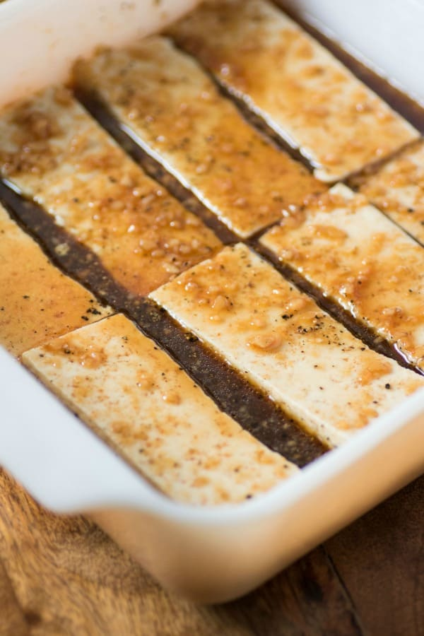 Marinated Grilled Spicy Tofu
