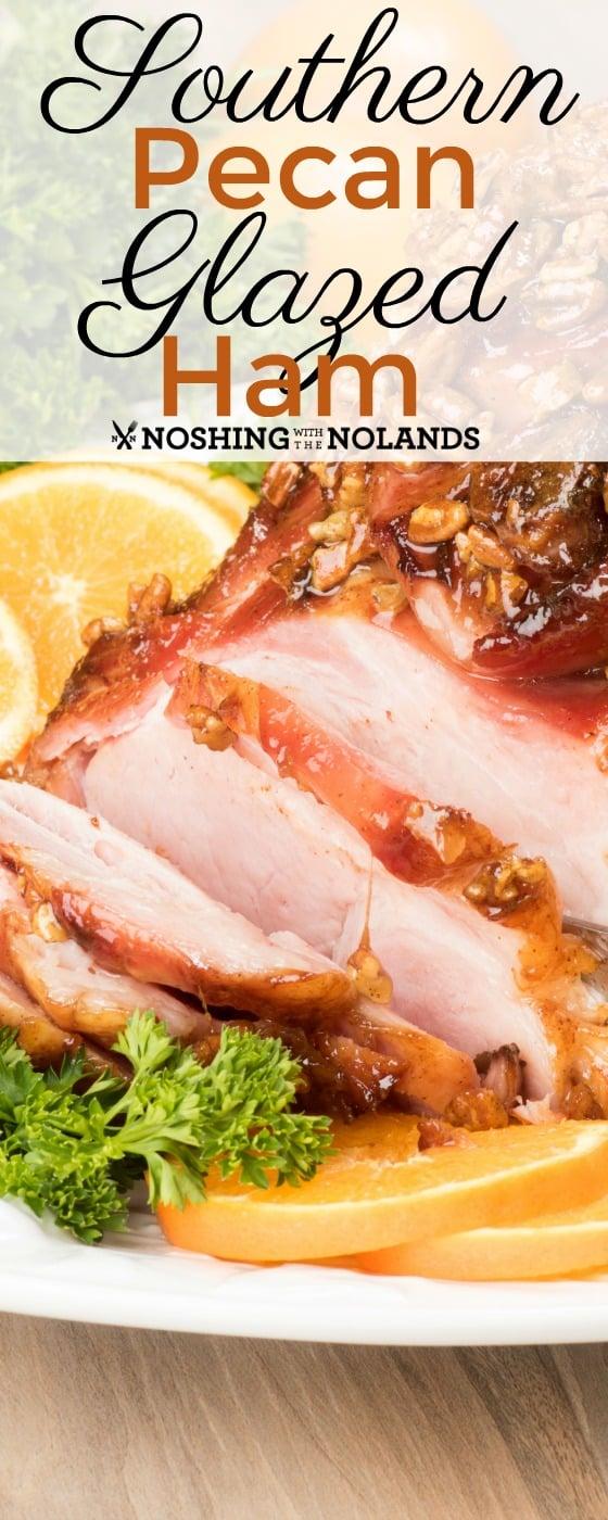 Southern Pecan Glazed Ham