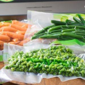 Freezing Farmers' Market Vegetables