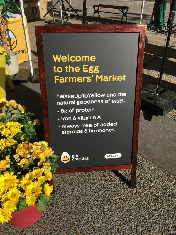 Pop-Up Egg Farmers' Market