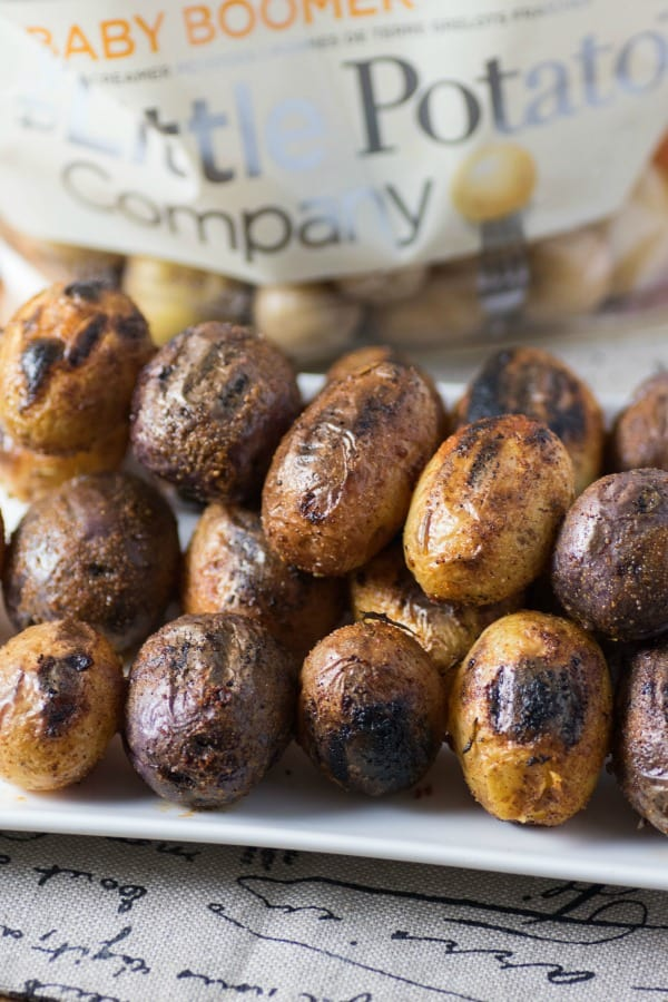 Mesquite BBQ Skewered Potatoes