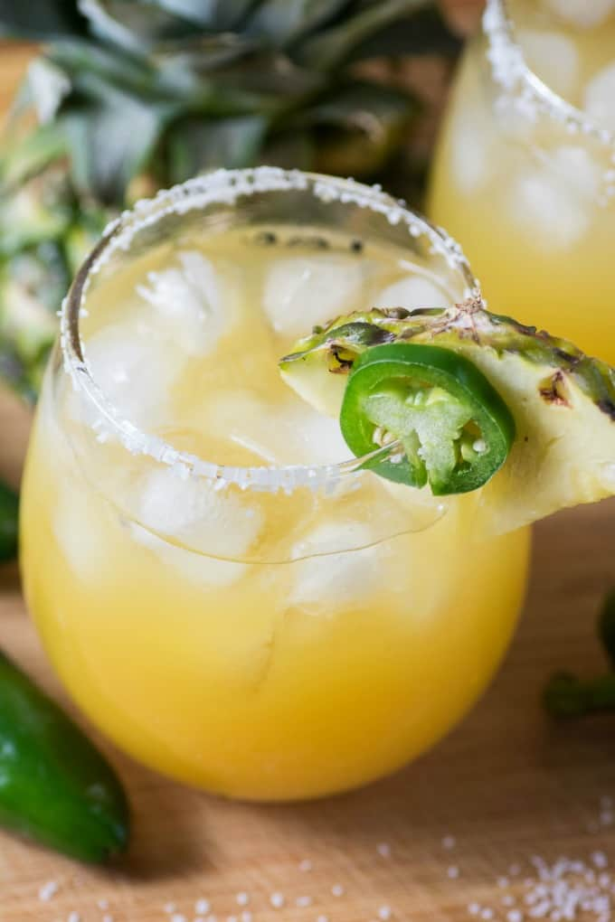 Pineapple Jalapeno Margarita & 1918 Tap and Table