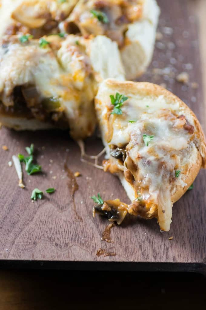 Cheesy Sausage Stuffed Bread