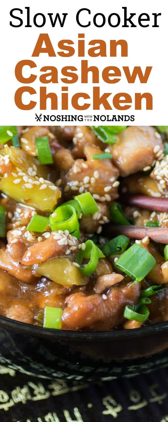 Slow Cooker Asian Cashew Chicken