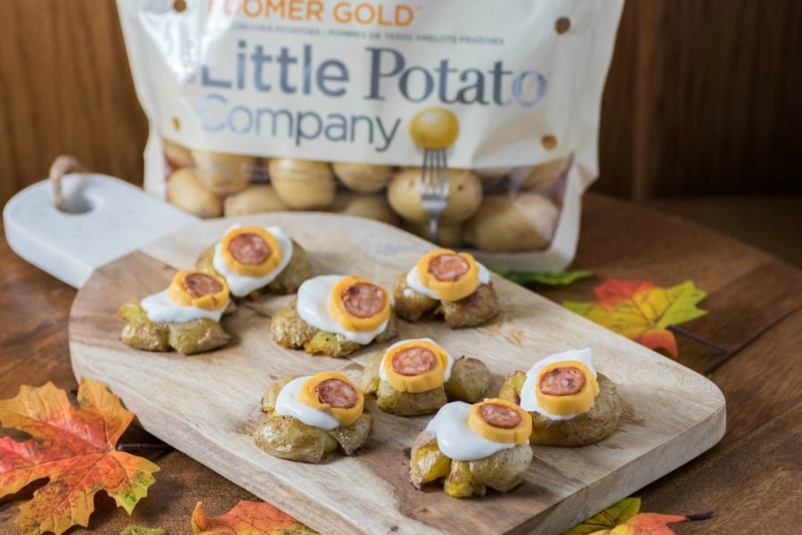 Little Potato Halloween Monster Eyeballs