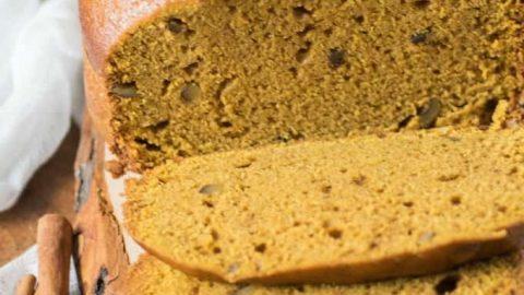 Bread Machine Pumpkin Pie Spice Loaf