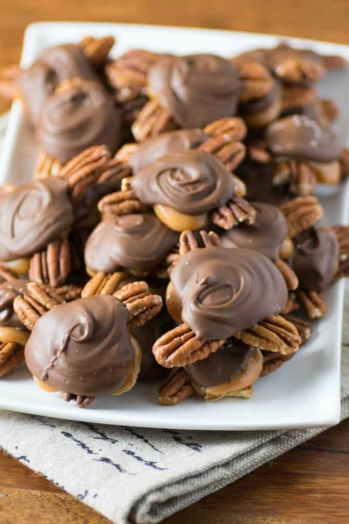 Homemade ChocolateTurtles