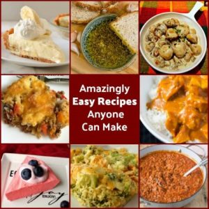 Amazingly Easy Recipes