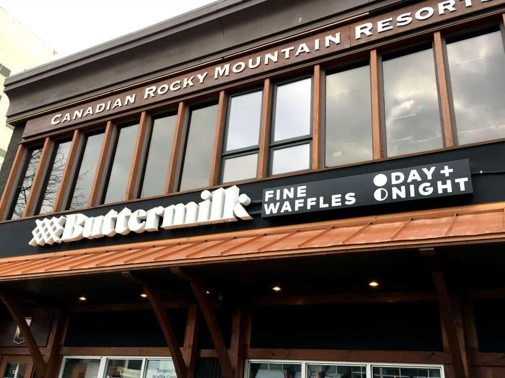 Buttermilk Fine Waffles
