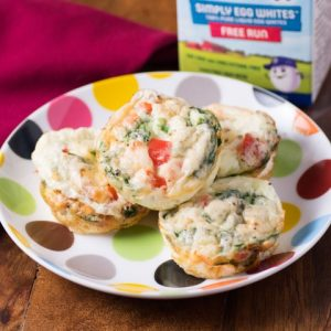 Cheesy Egg White Breakfast Cups