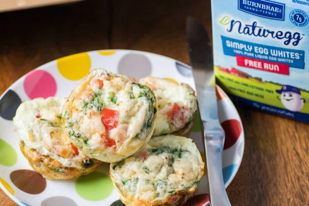 Cheesy Egg White Breakfast Cups
