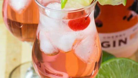 Cherry Gin & Tonic
