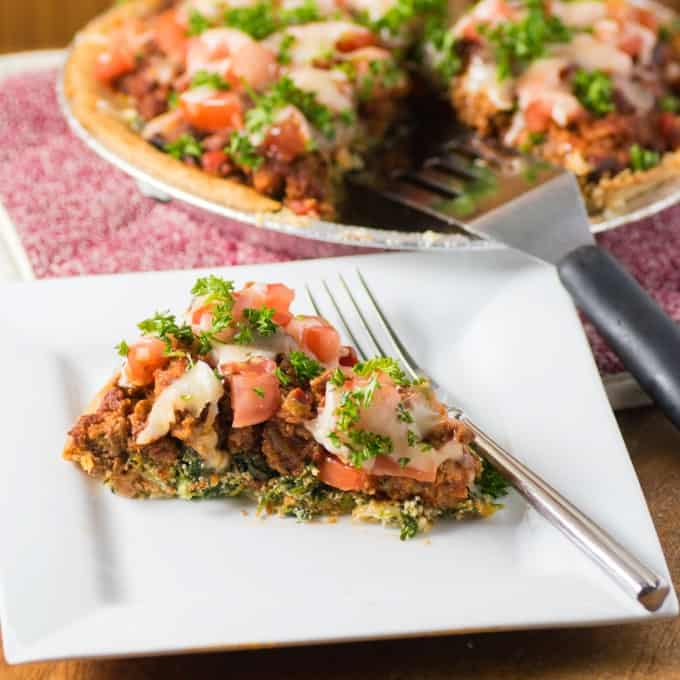 Spinach Beef Spaghetti Pie Recipe: Italian Spinach Beef Pie Is Like A Lasagna But Easier