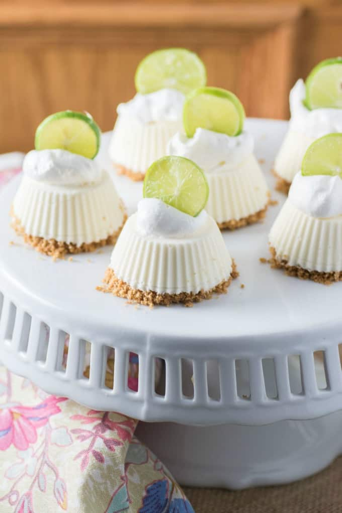 Mascarpone Key Lime Mini Pies