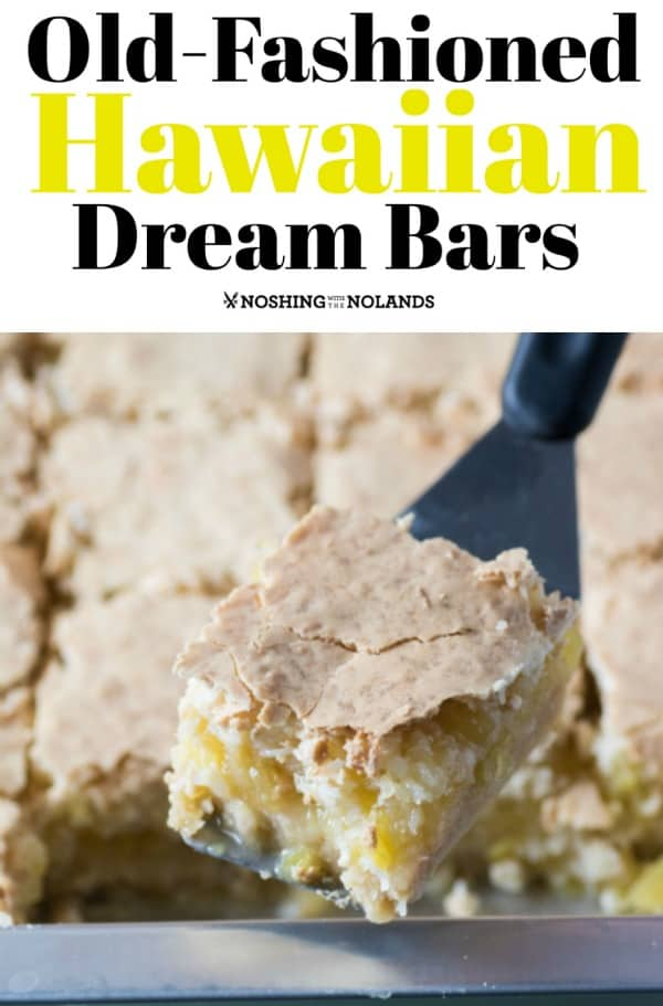 Old-Fashioned Hawaiian Dream Bars