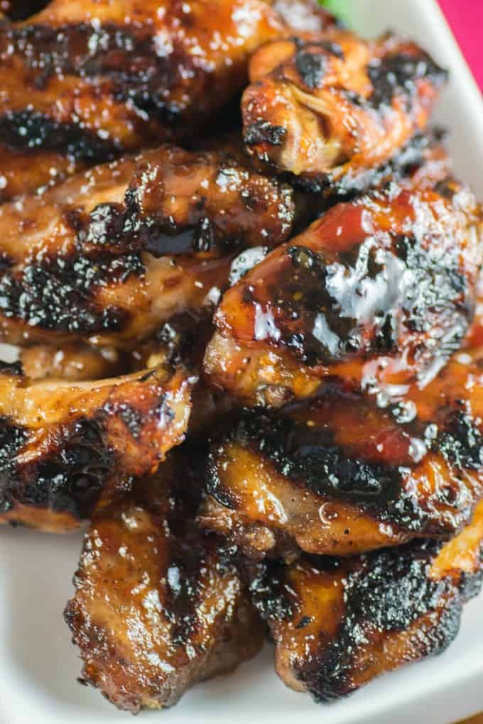 Spiced Cranberry Wings