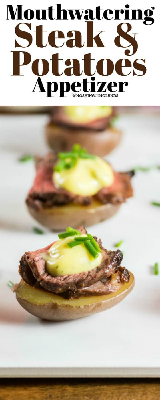 Mouthwatering Steak and Potatoes Appetizer
