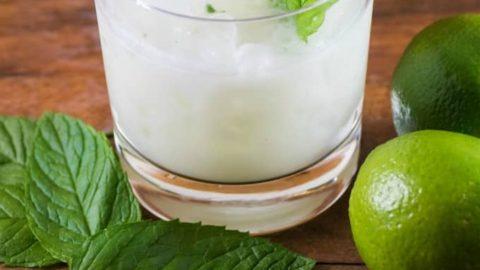 Earls Coconut Mint Margarita