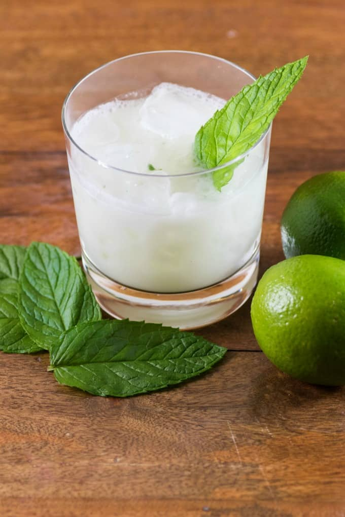 Earls Coconut Mint Margarita