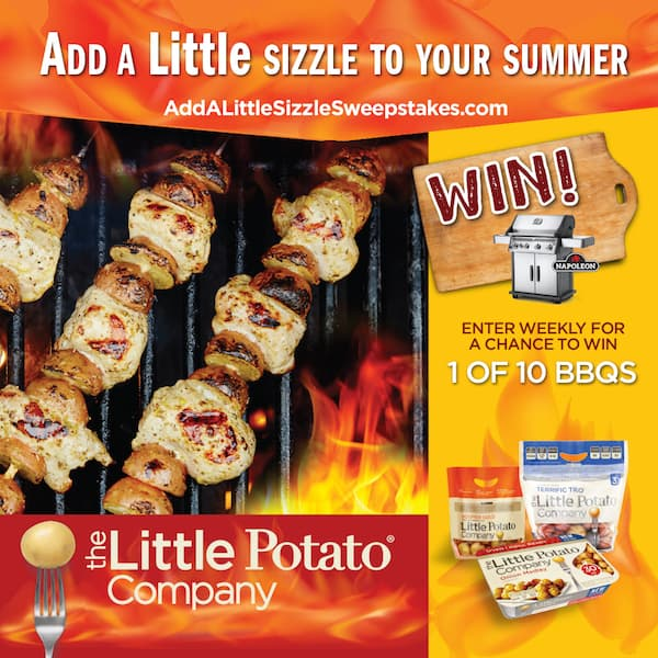 Add a Little Sizzle Sweepstakes