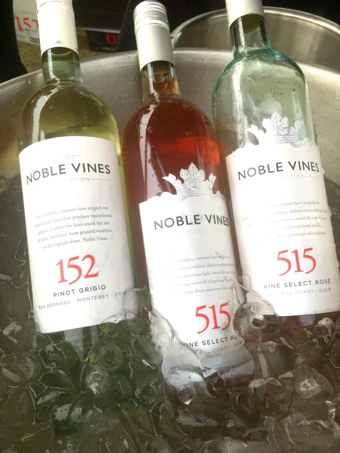 Noble Wines in ice bucket at Brewery and the Beast