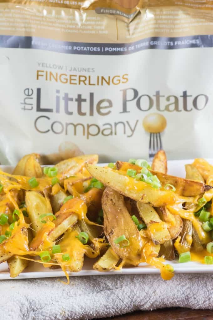 Little Potato Company bag of potatoes with Cheesy Breakfast Home Fries