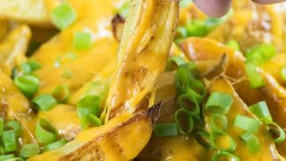 Cheesy Breakfast Home Fries