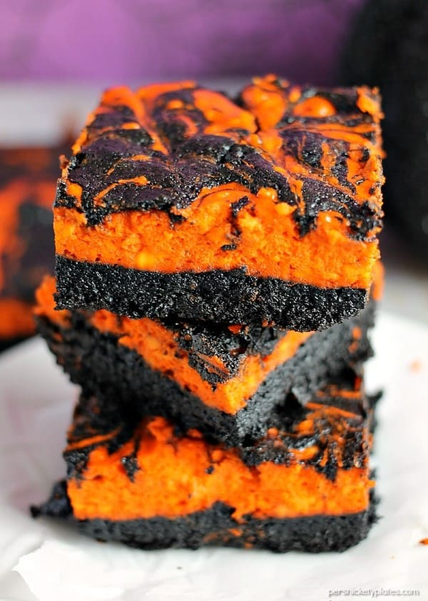 Black and orange bars