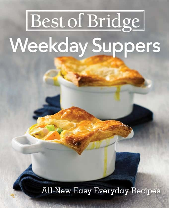 Best of Bridge Weekday Suppers Cover